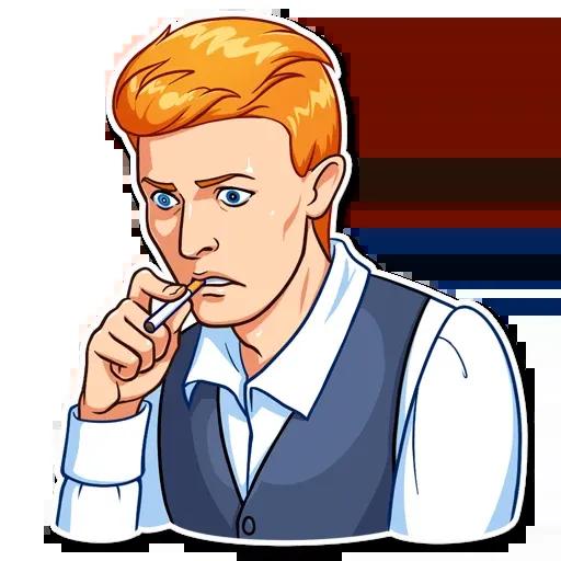 D. Bowie - Sticker 4