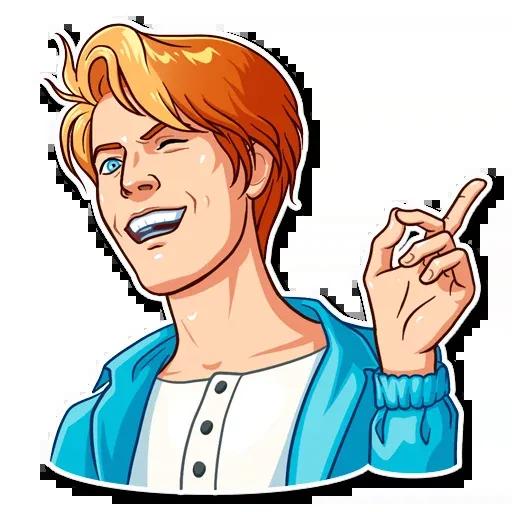 D. Bowie - Sticker 29