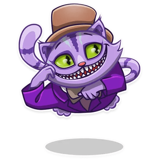Cheshire_Smile - Sticker 1