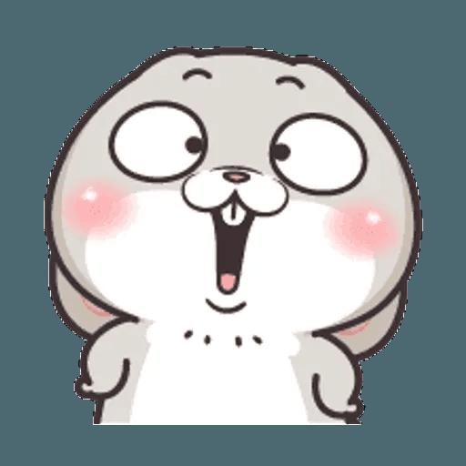好想兔 (表情貼2) - Sticker 3