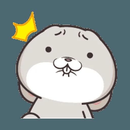 好想兔 (表情貼2) - Sticker 4