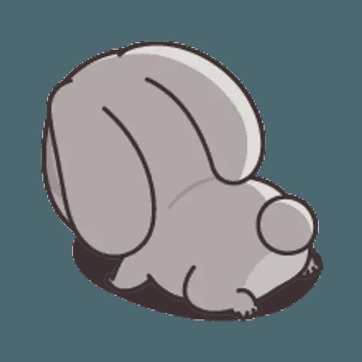 好想兔 (表情貼2) - Sticker 17