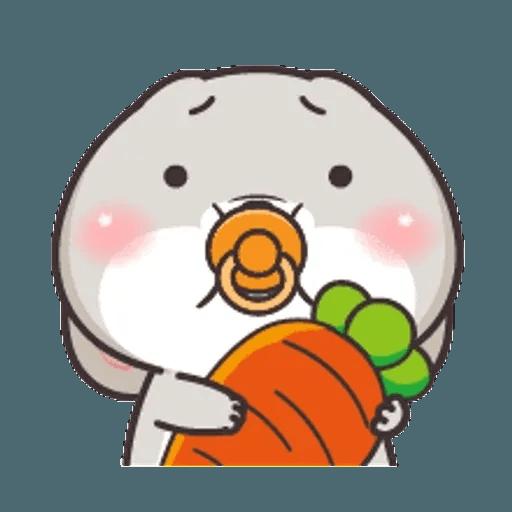 好想兔 (表情貼2) - Sticker 8