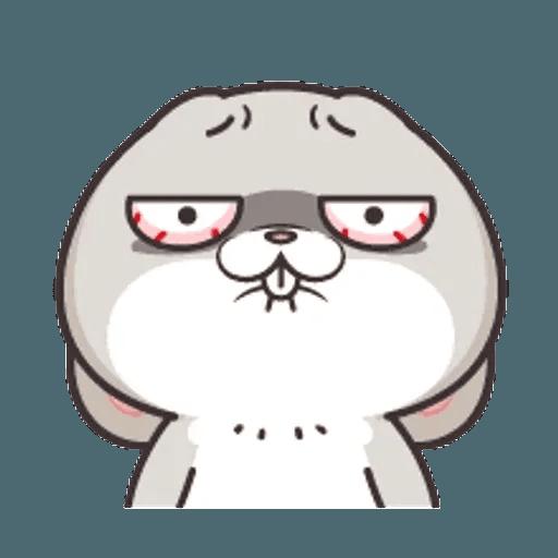 好想兔 (表情貼2) - Sticker 7