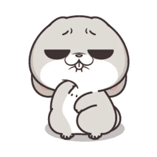 好想兔 (表情貼2) - Sticker 20