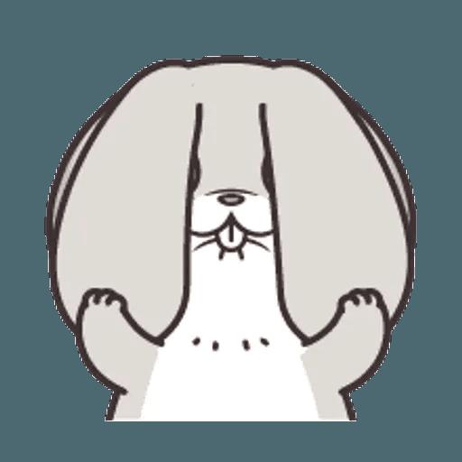 好想兔 (表情貼2) - Sticker 9