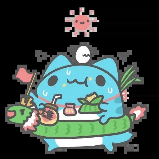 Capoo 咖波-原創貼圖 - Sticker 25