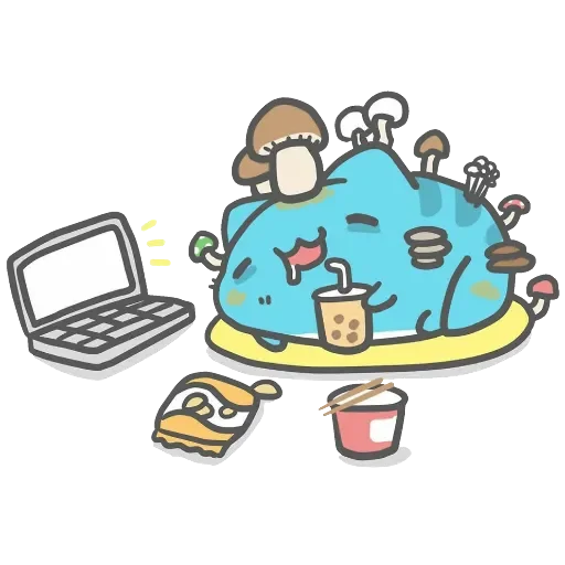 Capoo 咖波-原創貼圖 - Sticker 14
