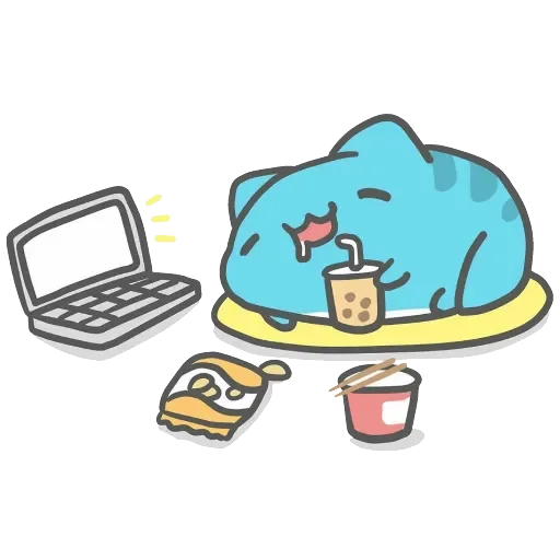 Capoo 咖波-原創貼圖 - Sticker 13
