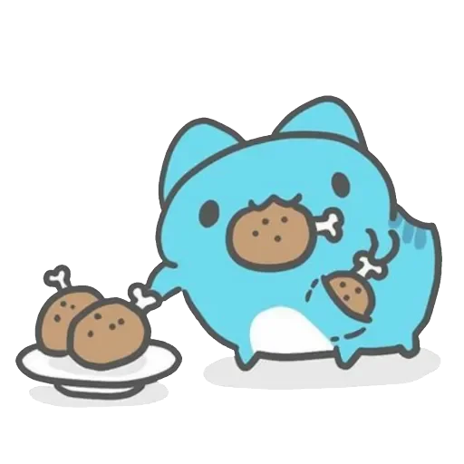 Capoo 咖波-原創貼圖 - Sticker 7