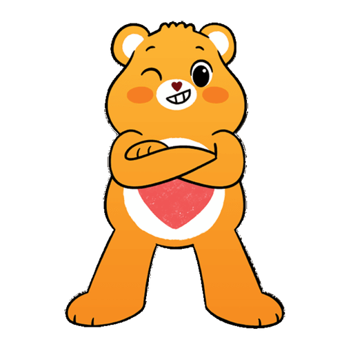 The Care Bears - Sticker 21