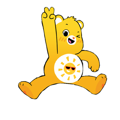 The Care Bears - Sticker 9