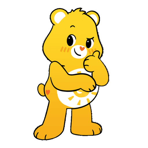 The Care Bears - Sticker 3