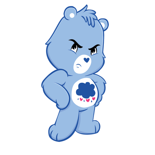 The Care Bears - Sticker 1