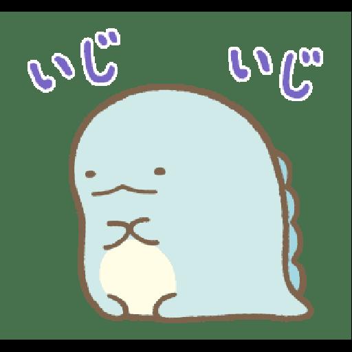 すみっコぐらし オノマトペ - Sticker 4