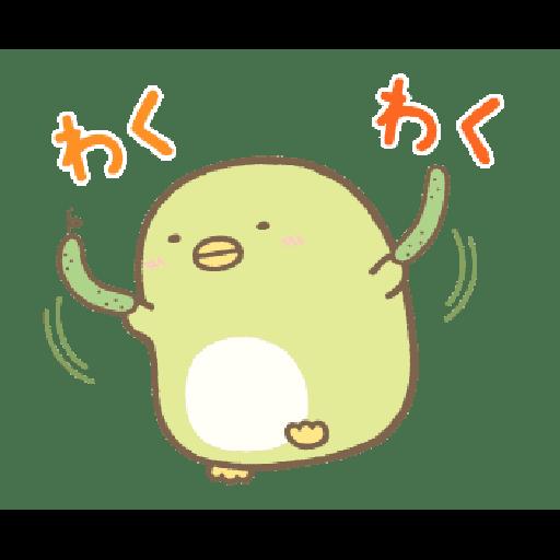すみっコぐらし オノマトペ - Sticker 3