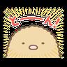 すみっコぐらし オノマトペ - Tray Sticker