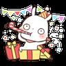 SongSong Bunny - Tray Sticker