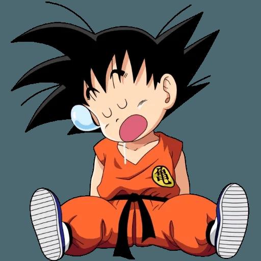 Goku - Tray Sticker