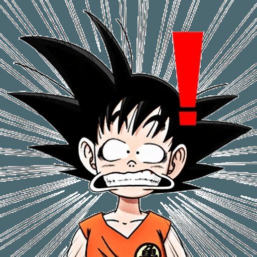Goku - Sticker 21
