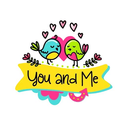 Love Birds Mia Jai - Sticker 14