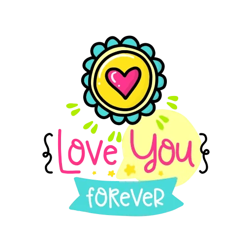 Love Birds Mia Jai - Sticker 9