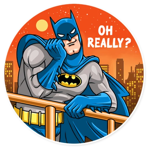 Batman - Sticker 16
