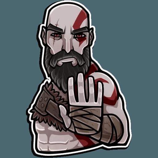 God Of War - Sticker 16