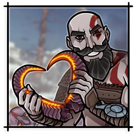God Of War - Sticker 1