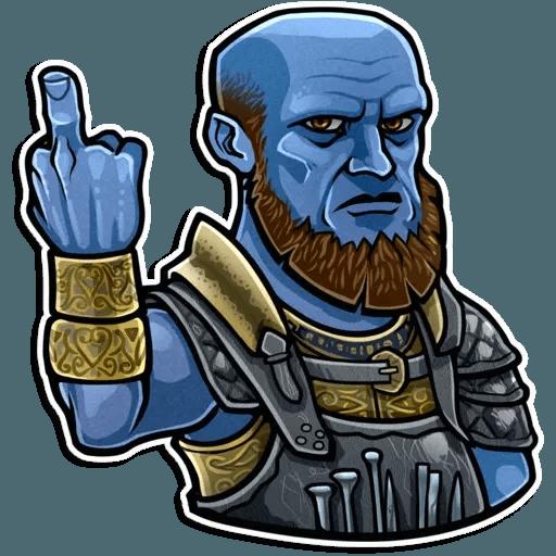 God Of War - Sticker 23