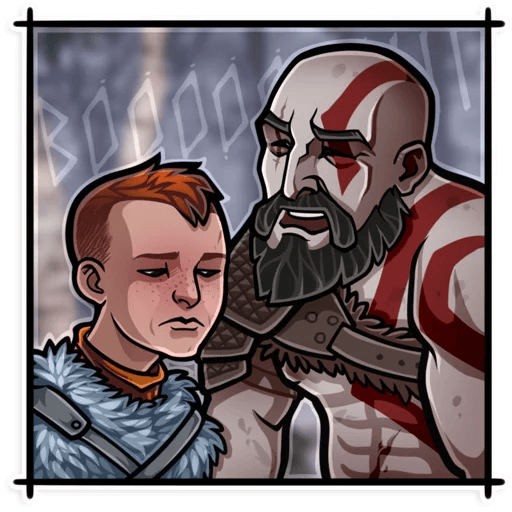 God Of War - Sticker 3