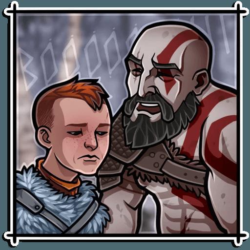 God Of War - Sticker 3