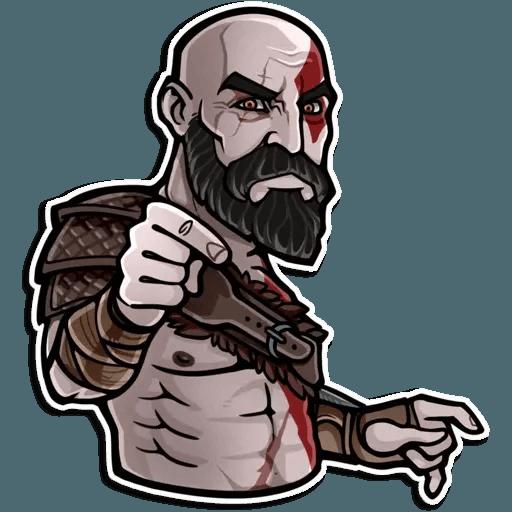 God Of War - Sticker 13