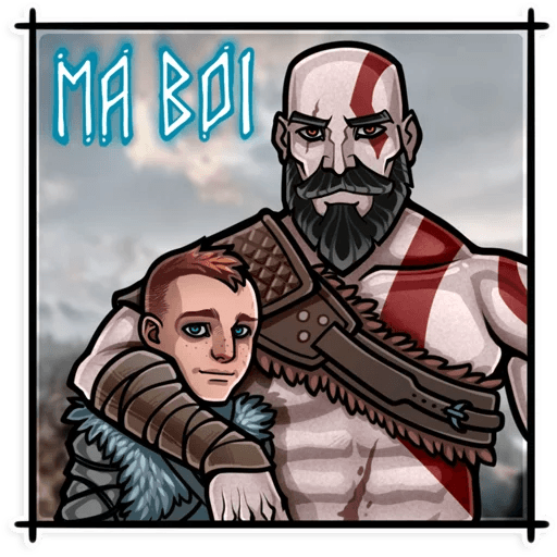 God Of War - Sticker 2
