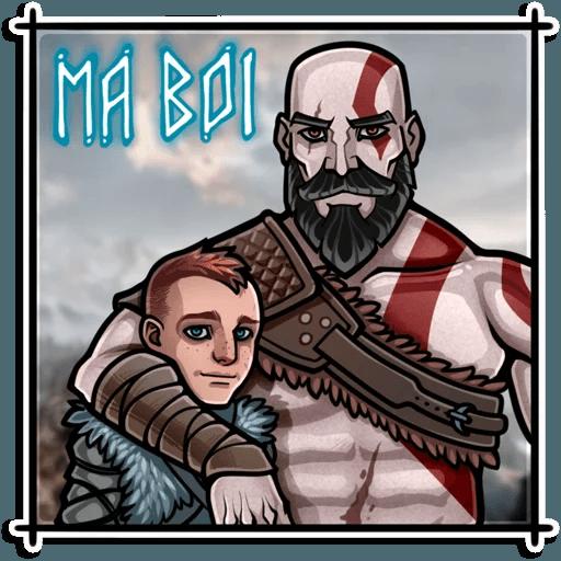 God Of War - Sticker 2