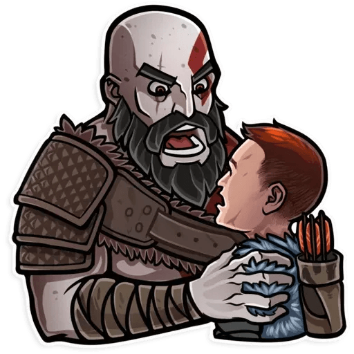 God Of War - Sticker 19
