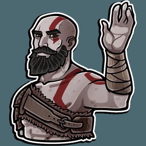 God Of War - Sticker 9