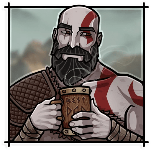 God Of War - Sticker 5
