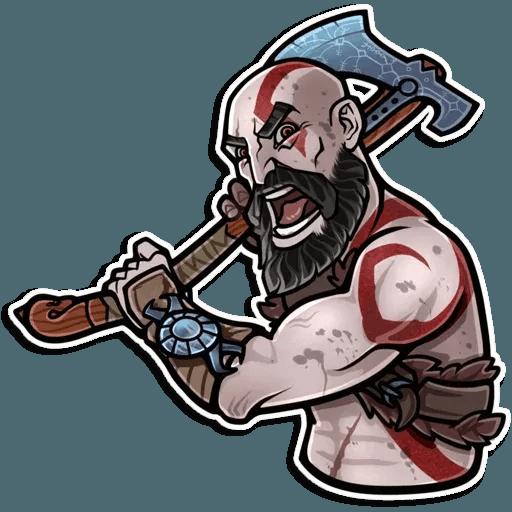 God Of War - Sticker 11