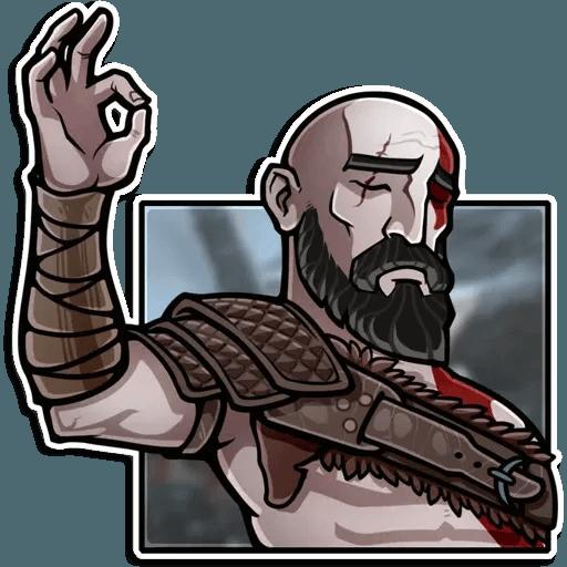 God Of War - Sticker 12