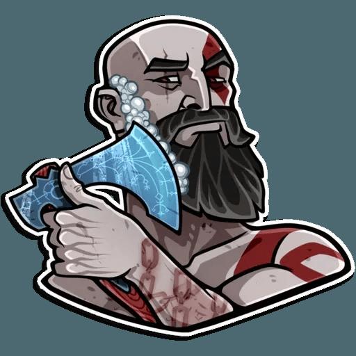 God Of War - Sticker 14