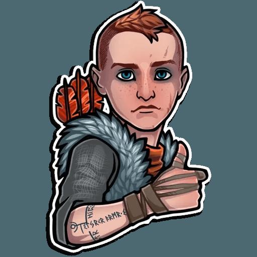 God Of War - Sticker 7