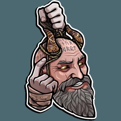 God Of War - Sticker 10