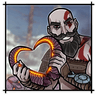 God Of War - Tray Sticker