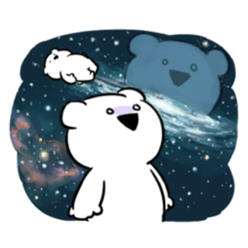 Extremely rabbit and bear - Sticker 25