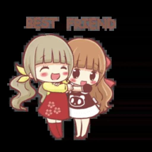 Best friend - Sticker 9