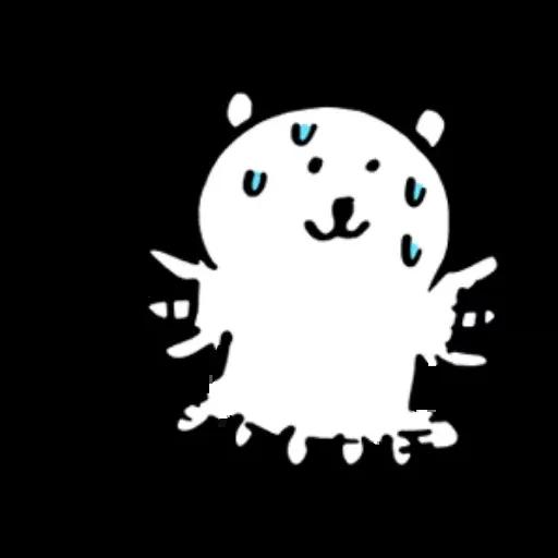 搞笑白熊2 - Sticker 6