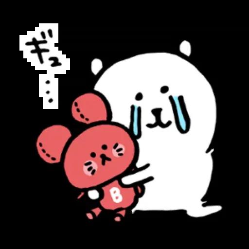 搞笑白熊2 - Sticker 13