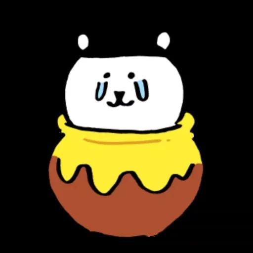 搞笑白熊2 - Sticker 30