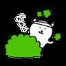 搞笑白熊2 - Tray Sticker